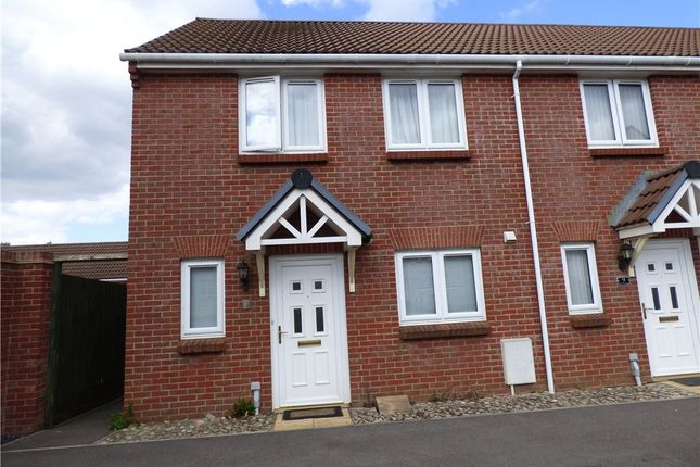 Thumbnail End terrace house to rent in Monarch Road, Crewkerne, Somerset
