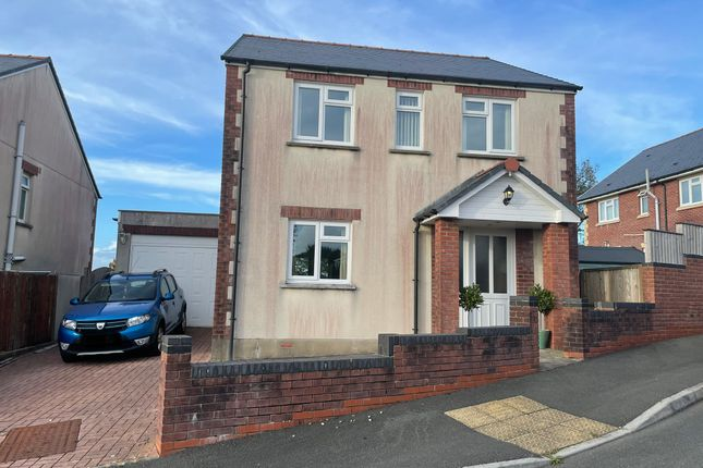 Thumbnail Detached house for sale in Clos Treventy, Cefneithin, Llanelli
