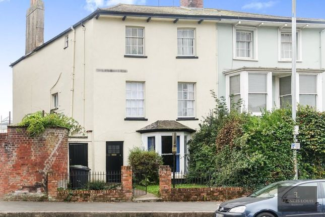 Thumbnail End terrace house to rent in Heavitree Road, Exeter