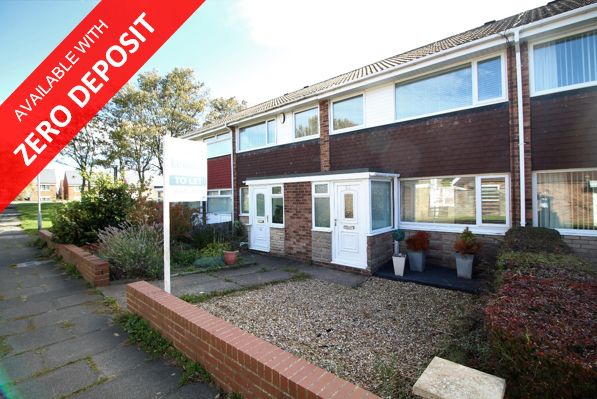 Thumbnail Terraced house to rent in Osprey Drive, Blyth