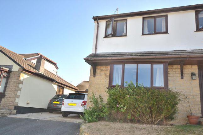 Thumbnail Semi-detached house for sale in Gweal Wartha, Helston