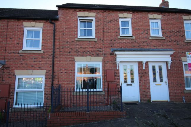 Thumbnail 2 bed town house to rent in Auction Place, Uttoxeter