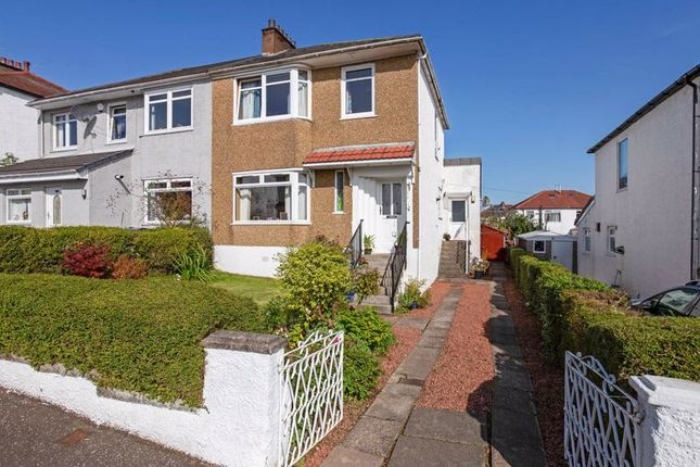 Thumbnail Semi-detached house for sale in Rockmount Avenue, Thornliebank
