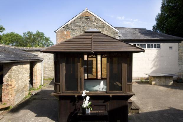 Courtyard of Rumwell Park, Taunton, Somerset TA4