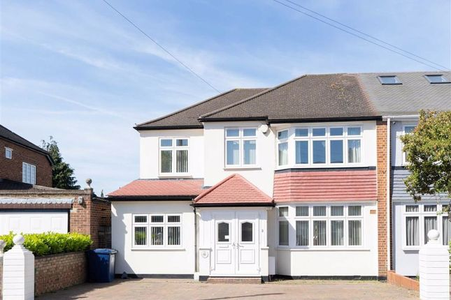 Thumbnail Semi-detached house for sale in Sherborne Avenue, Southall, Middlesex