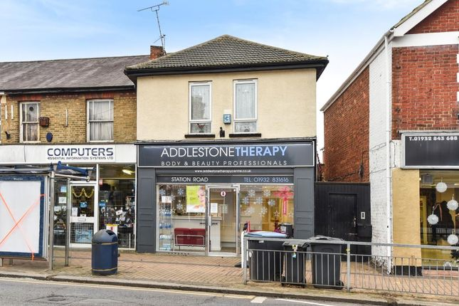 Thumbnail Retail premises for sale in 164 Station Road, Addlestone