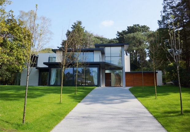Thumbnail Detached house for sale in Bury Road, Branksome Park, Poole, Dorset