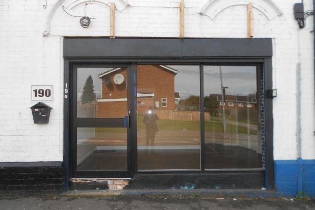 Retail premises to let in Edward Road, Birmingham