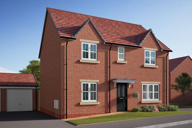 "Thumbnail Detached house for sale in ""The Leverton"" at Southfield Lane, Tockwith, York"
