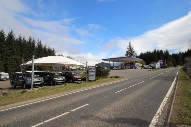 Thumbnail Commercial property for sale in Lix Toll Garage Ltd, Killin, Stirling