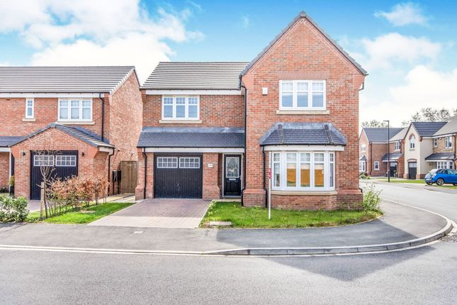 Thumbnail Detached house for sale in Heatherfield Crescent, Rossington, Doncaster