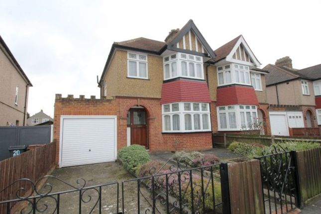 Thumbnail Semi-detached house for sale in Woodlawn Drive, Hanworth