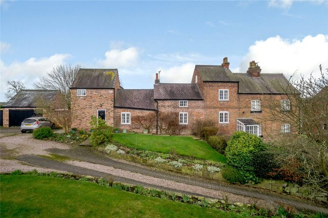 Thumbnail Detached house for sale in Barnston Road, Heswall, Wirral, Merseyside