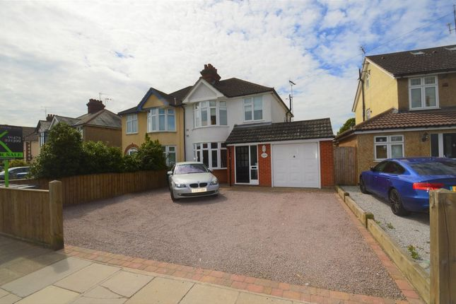 Thumbnail Semi-detached house for sale in Colchester Road, Ipswich