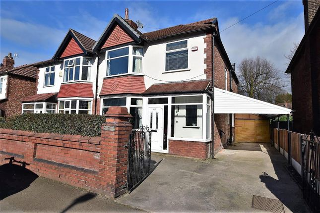 5 bed semi-detached house for sale in Goulden Road, West Didsbury, Didsbury, Manchester M20
