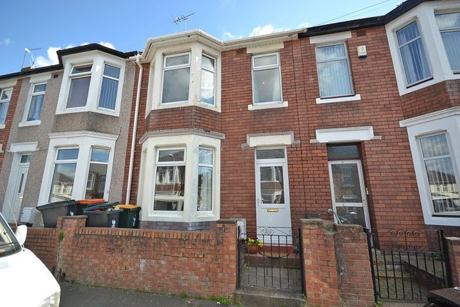 Thumbnail Terraced house to rent in Cumberland Road, Newport