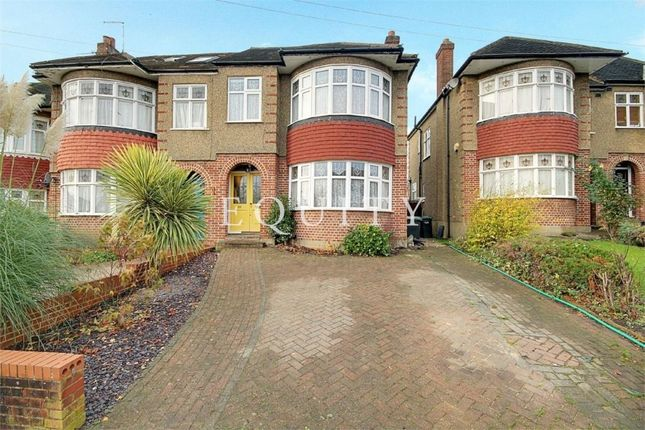 Thumbnail Semi-detached house for sale in Oakwood Avenue, Southgate