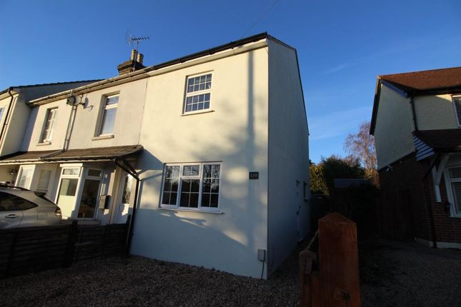 Thumbnail End terrace house for sale in Guildford Road, Ash