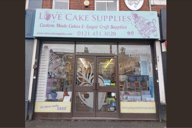 Thumbnail Retail premises for sale in Watford Road, Kings Norton, Birmingham
