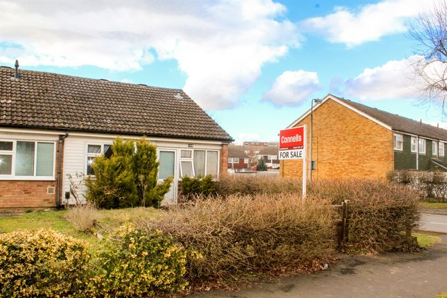 Thumbnail Terraced bungalow for sale in Swanstand, Letchworth Garden City