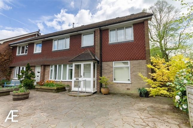 Thumbnail End terrace house to rent in St. Meddens, Bull Lane, Chislehurst