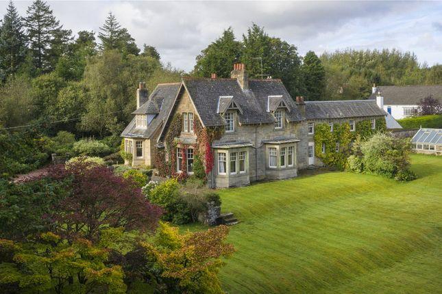 Thumbnail Detached house for sale in Hazlieburn, West Linton, Peeblesshire
