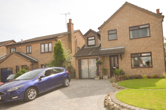 Thumbnail Detached house for sale in Fanshaw Close, Eckington, Sheffield