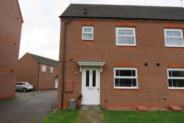 Thumbnail Semi-detached house for sale in Hardwick Field Lane, Chase Meadow Square, Warwick