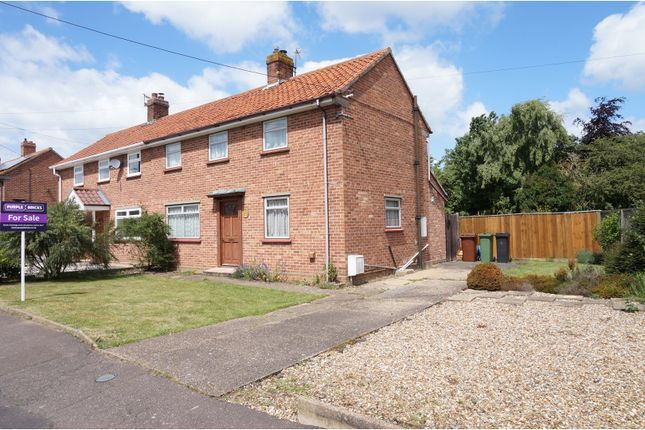 Thumbnail Semi-detached house for sale in Wildernessclose, Harleston
