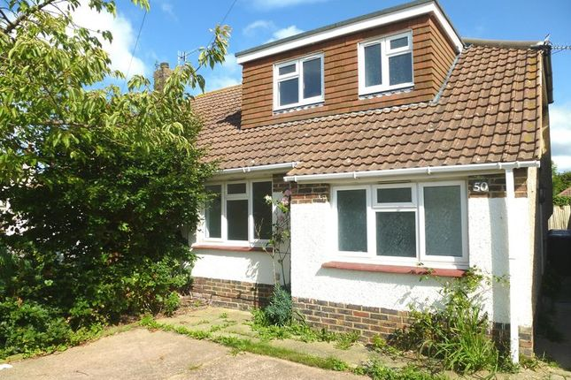 Thumbnail Bungalow to rent in Franklin Road, Shoreham-By-Sea