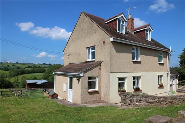 Thumbnail Detached house for sale in Llangarron, Carwen, Llangarron, Ross-On-Wye