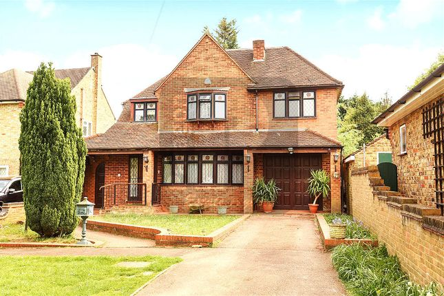 Thumbnail Detached house for sale in Woodstock Drive, Ickenham