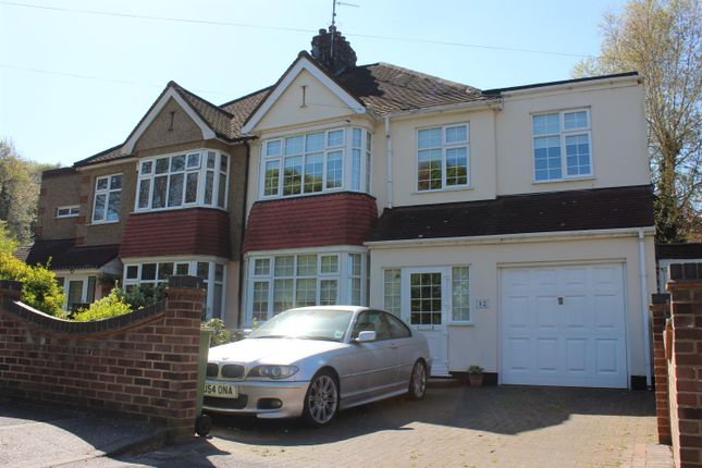Thumbnail Semi-detached house for sale in New Road, Abbey Wood, London