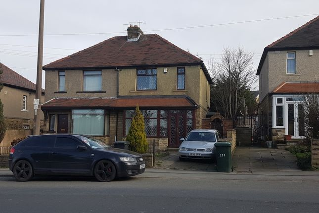 Thumbnail Semi-detached house to rent in Cemetery Road, Bradford