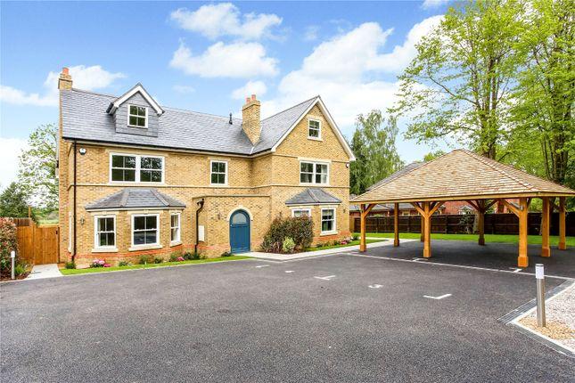 Thumbnail Semi-detached house for sale in London Road, Sunningdale, Ascot, Berkshire