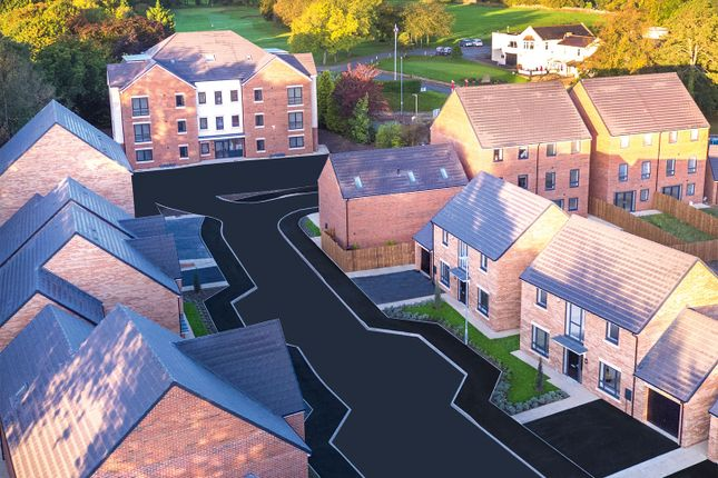 "Thumbnail Flat for sale in ""Aston Court - Type 4 - Ground Floor"" at Loansdean, Morpeth"