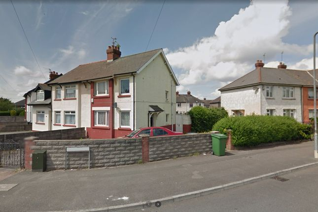 Thumbnail Semi-detached house to rent in Whitmuir Road, Tremorfa