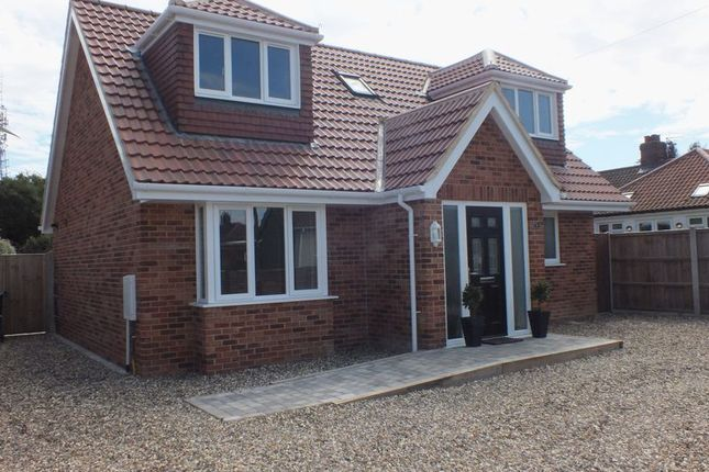 Thumbnail Detached bungalow for sale in Aerodrome Road, Thorpe St Andrew, Norwich