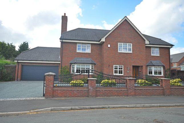 Thumbnail Detached house for sale in Brizlincote Lane, Bretby, Burton-On-Trent