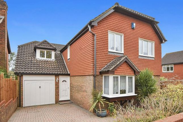 Thumbnail Detached house for sale in Chaucer Close, Nork, Banstead