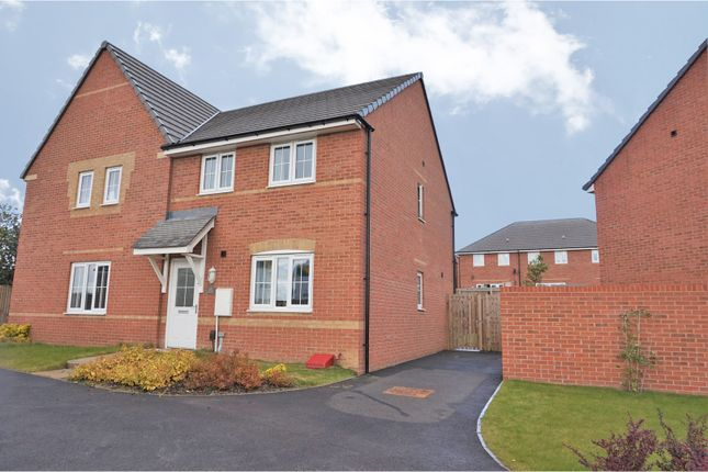 Thumbnail Semi-detached house for sale in Perry Way, Leeds