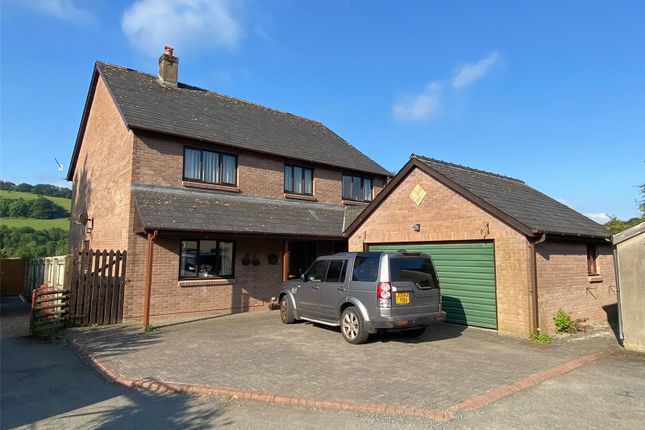 Thumbnail Detached house for sale in The Rear 88 The Watton, Brecon, Powys