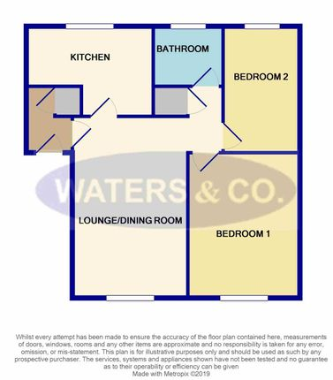 Floor Plan of Maxstoke Court, Coventry Road, Coleshill B46