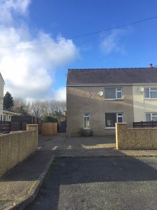 Thumbnail Semi-detached house to rent in Greenway, Hook, Haverfordwest