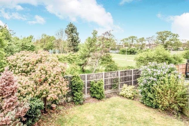 Rear Views of Hillesden Avenue, Elstow, Bedford, Bedfordshire MK42