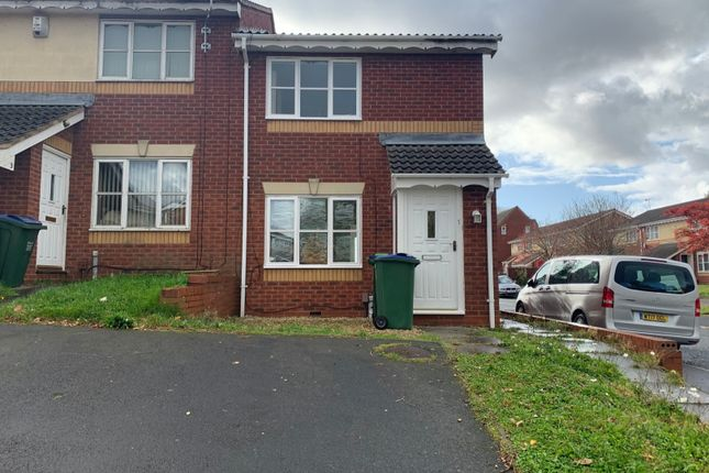 Thumbnail 2 bed end terrace house for sale in Amity Close, Smethwick