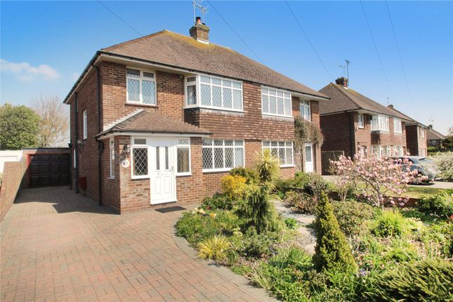 Thumbnail Semi-detached house for sale in Orchard Road, East Preston, West Sussex