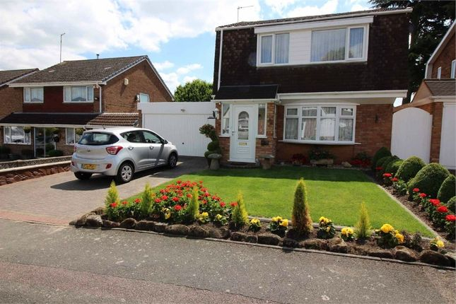 Thumbnail Detached house for sale in Tavistock Close, Perrycrofts, Tamworth, Staffordshire