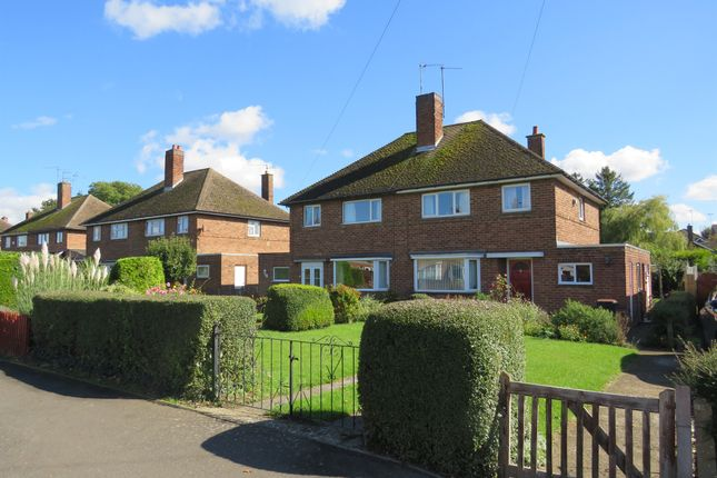 Thumbnail Semi-detached house for sale in Highfield Road, Thrapston, Kettering