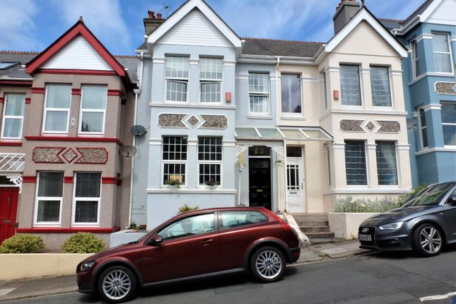 Thumbnail Terraced house for sale in Wembury Park Road, Peverell, Plymouth, Devon